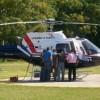 Helicóptero: el gobierno insiste en que lo avala la ley de emergencia