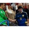 Messi ganó el Balón de Oro de la Fifa como el mejor jugador del Mundial