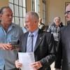 Críticas y cruces políticos en la despedida de los gendarmes