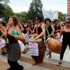 "#8M: una multitud marchó al grito de ""basta de femicidios"""