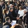 Macri encabezó en Rosario un acto breve y frío por el Día de la Bandera