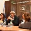 Encuentro en UDA debatió ejes de una futura ley provincial de Educación
