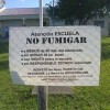 Denuncian fumigaciones en tres escuelas rurales de la provincia