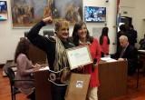"""El Concejo reconoció a """"Locomotora"""" Oliveras"""
