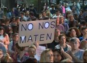 Multitudinaria marcha para pedir justicia por Julio Cabal