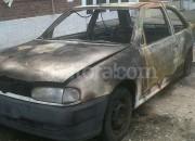Incendiaron tres autos y sospechan que fue un mismo autor