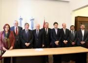 Lifschitz presentó a parte de los ministros que integrarán su gabinete