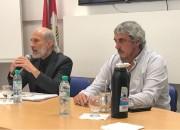 El Secretario de Educación, Oscar Di Paolo, visitó la sede de la UDA.