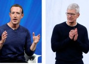 La pelea de Tim Cook y Mark Zuckerberg por los datos de los usuarios